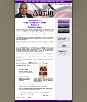 Bruce Austin for Houston Community College Board of Trustees