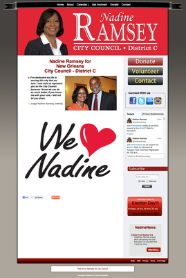 Nadine Ramsey for New Orleans City Council - District C