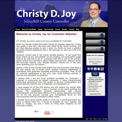 County Controller Websites