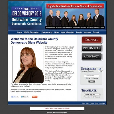 County Council Websites
