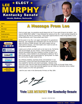 Lee Murphy - Kentucky Senate Eelction