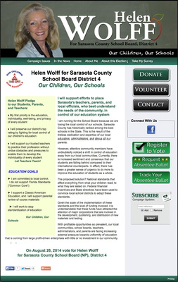 Helen Wolff for Sarasota County School Board - District 4