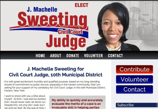 Machelle Sweeting for Civil Court Judge 10th Municipal District