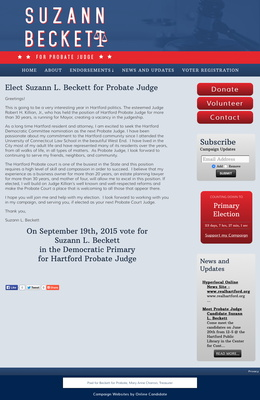 Elect Suzann L. Beckett for Probate Judge