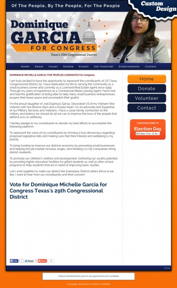 Dominique Michelle Garcia for Congress Texas's 29th Congressional District.jpg