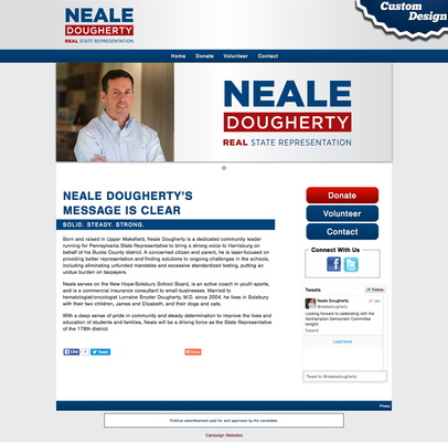 Neale Dougherty for State Representative   Pennsylvania's 178th District