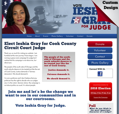 Ieshia Gray for Cook County Circuit Court Judge