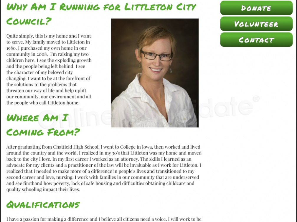 Kama Suddath for Littleton City Council
