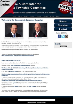 Baldassare & Carpenter for Bernards Township Committee