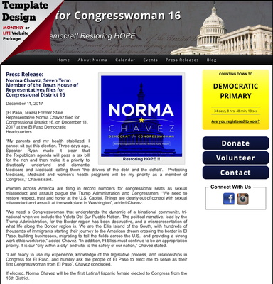 Norma Chavez for Congress