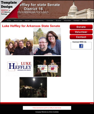 Luke Heffley for state Senate District 16