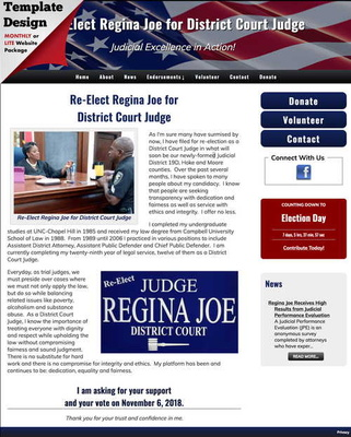 Re-Elect Regina Joe for District Court Judge