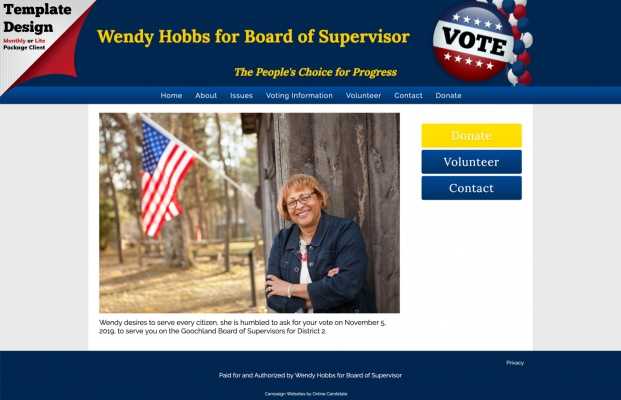 Wendy Hobbs for Board of Supervisor