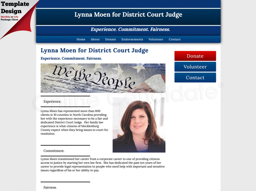 Lynna Moen for District Court Judge