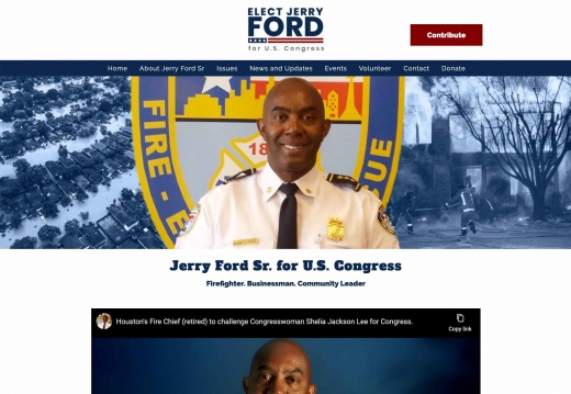 Jerry Ford Sr. for U.S. Congress