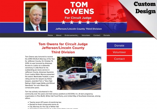 Tom Owens for Circuit Judge