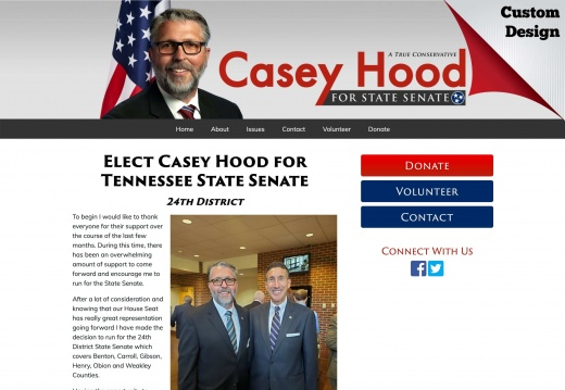 Casey Hood for Tennessee State Senate