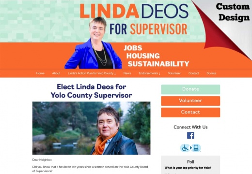 Linda Deos for Yolo County Supervisor