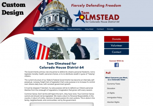 Tom Olmstead for Colorado House District 64