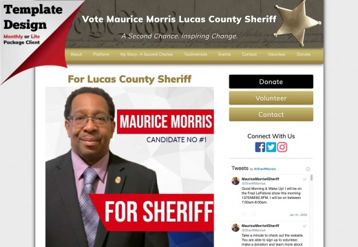 Maurice Morris Lucas County Sheriff