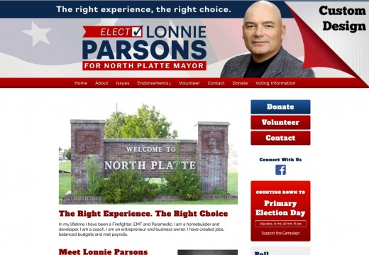 Lonnie Parsons for Mayor of North Platte
