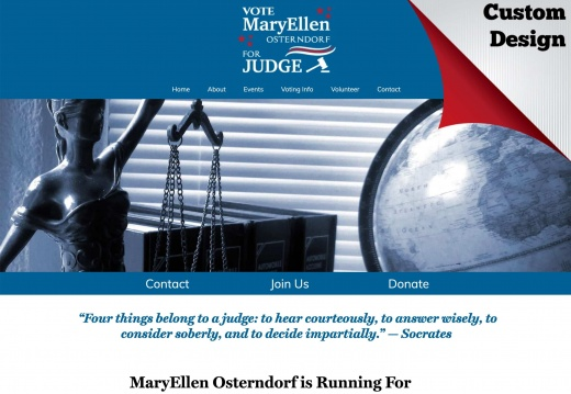 MaryEllen Osterndorf for Circuit Judge, Circuit 7, Group 14