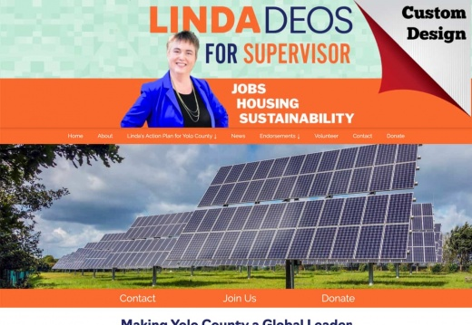 Linda Deos for Yolo County Supervisor- issue subpage 1