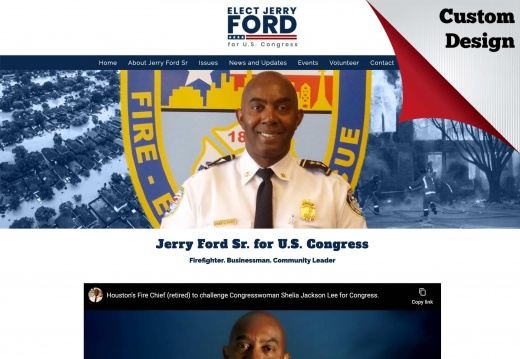 Jerry Ford for Congress