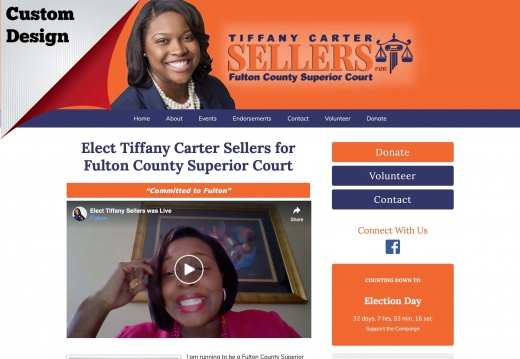 Tiffany Carter Sellers for Fulton County Superior Court