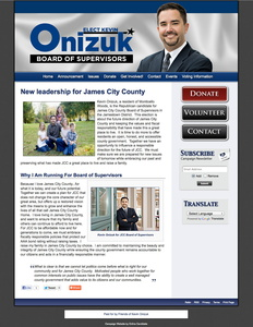 Kevin Onizuk for James City County Board of Supervisors