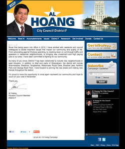 Al Hoang for Houston City Council - District F