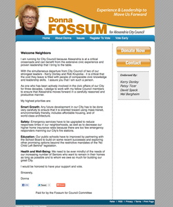 Donna Fossum for Alexandria City Council