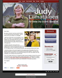 Judy Liimatainen for Dallas City Council - District 14