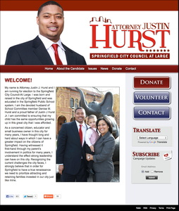 Justin Hurst for Springfield City Council at Large
