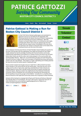 Patrice Gattozziis Makinga Run for Boston City Council