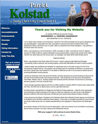 Patrick Kolstad for Santa Clara City Council Seat #2