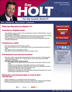Ray Holt for Jacksonville City Council