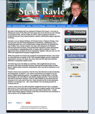 Steve Rayle for Orlando City Council