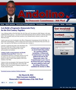 Lawrence Andolino for Democratic Committeeman 36th Ward