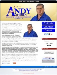 Andrew William O\'Brien for Palm Beach County Commission District 4
