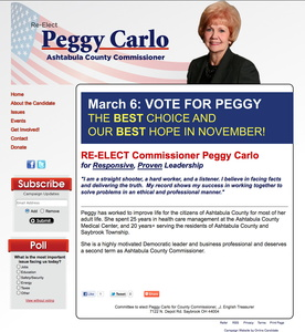 Elect Peggy Carlo for Ashtabula County Commissioner