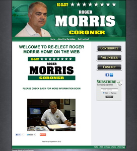 Re-Elect Roger W Morris for Washington County Coroner