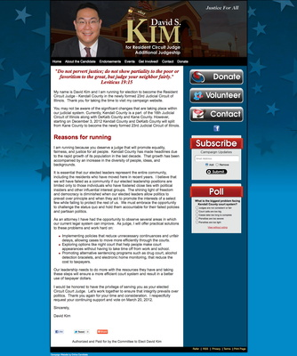 David Kim for Kendal County Resident Circuit Judge