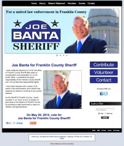 Joe Banta for Franklin County Sheriff