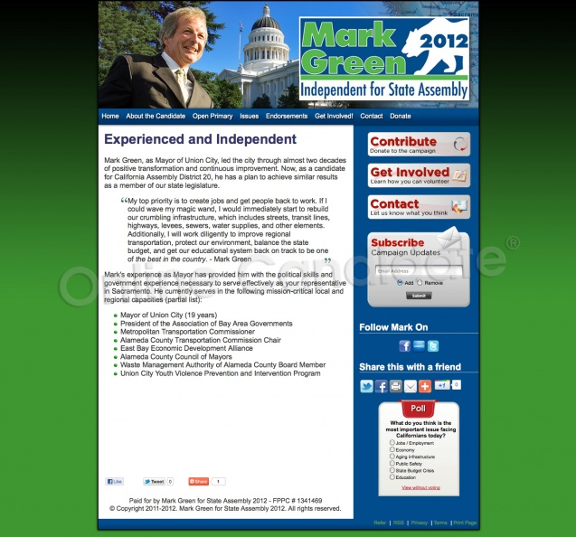 Elect Mark Green for California State Assembly