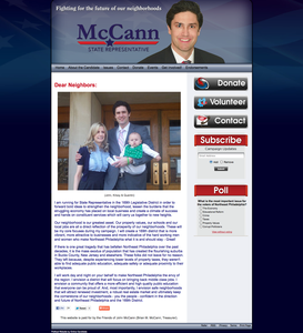 John McCann for Pennsylvania State Representative - 169th District