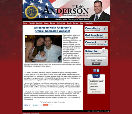 Keith Anderson for Rhode Island State Representativepsd