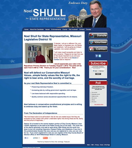 Noel Shull for State Representative, Missouri Legislative District 16