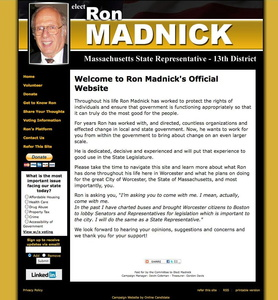 Ron Madnick for Massachusetts State Representative
