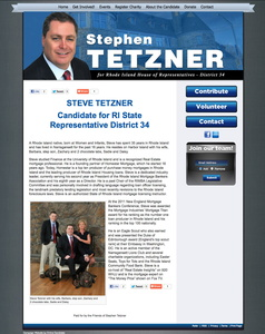 Stephen Tetzner Candidate for Rhode Island State Representative District 34